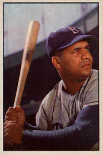 1953 Bowman Roy Campanella