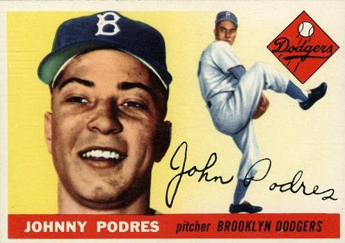 1955 Topps Johnny Podres