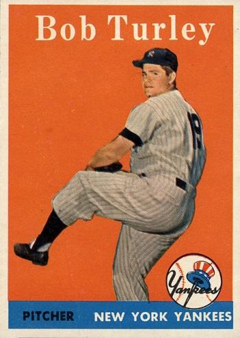 1958 Topps Bob Turley