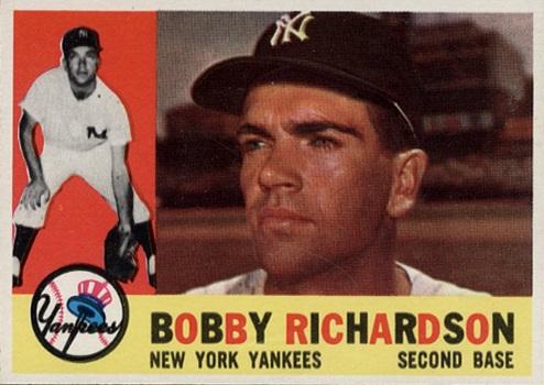 1960 Topps Bobby Richardson
