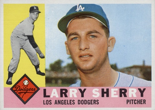 1960 Topps Larry Sherry Rookie Card