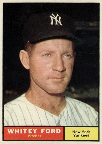 1961 Topps Whitey Ford