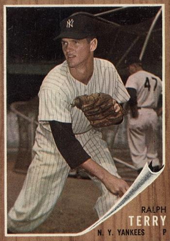 1962 Topps Ralph Terry