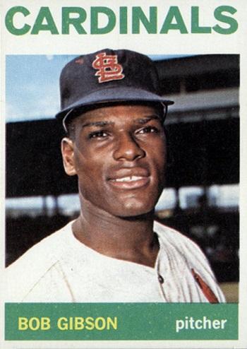 1964 Topps Bob Gibson