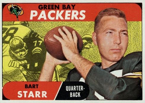 1968 Topps Bart Starr