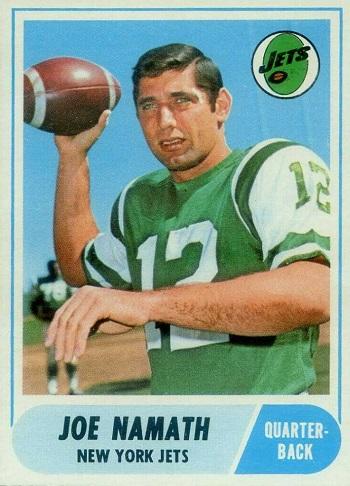 1968 Topps Joe Namath