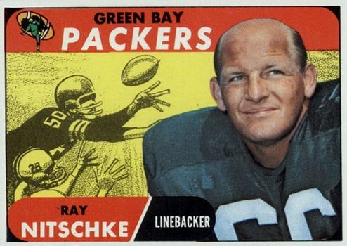 1968 Topps Ray Nitschke