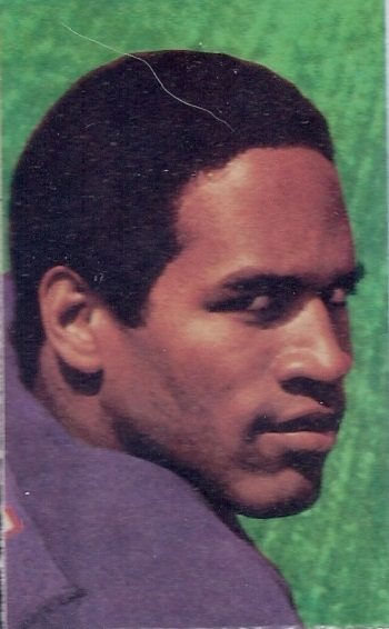 1969 Glendale Stamps O.J. Simpson