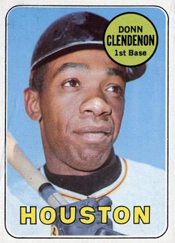 1969 Topps Donn Clendenon