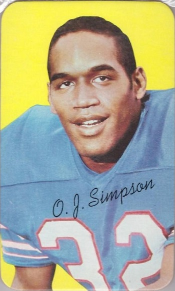 1970 Topps Super O.J. Simpson (#24)
