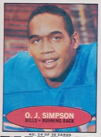 1971 Bazooka O.J. Simpson