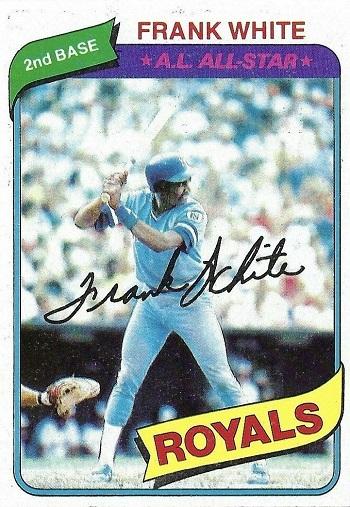 1980 Topps Frank White
