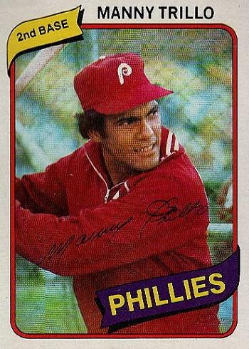 1980 Topps Manny Trillo