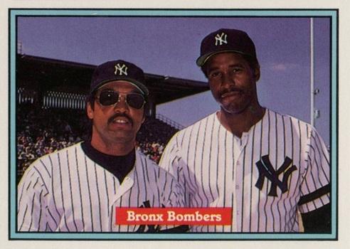 1982 Donruss Bronx Bombers R.Jackson-D.Winfield