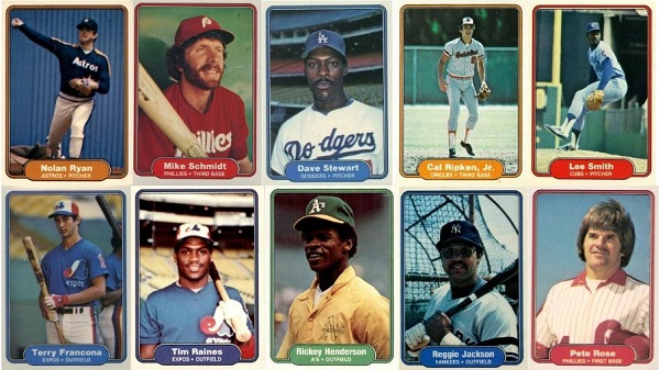 1982 Fleer Baseball Cards – 10 Most Valuable