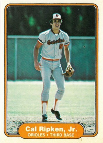 1982 Fleer Cal Ripken Jr. Rookie Card