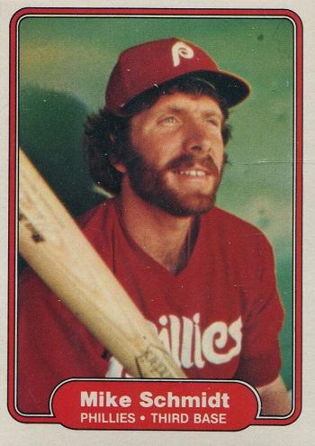 1982 Fleer Mike Schmidt (#258)