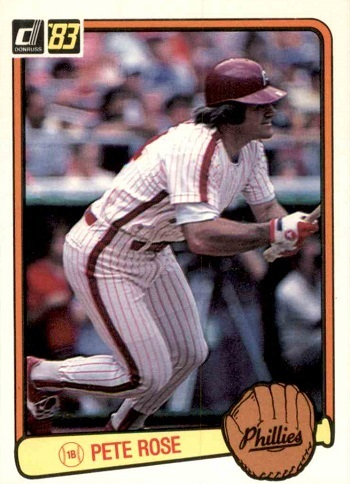 1983 Donruss Pete Rose