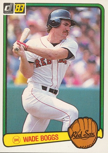 1983 Donruss Wade Boggs Rookie Card