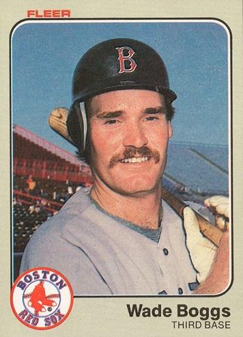 1983 Fleer Wade Boggs Rookie Card