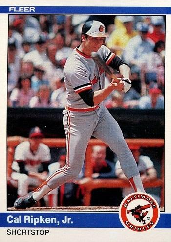 1984 Fleer Cal Ripken Jr
