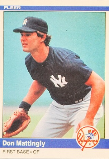 1984 Fleer Don Mattingly Rookie Card