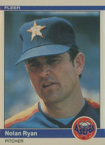 1984 Fleer Nolan Ryan
