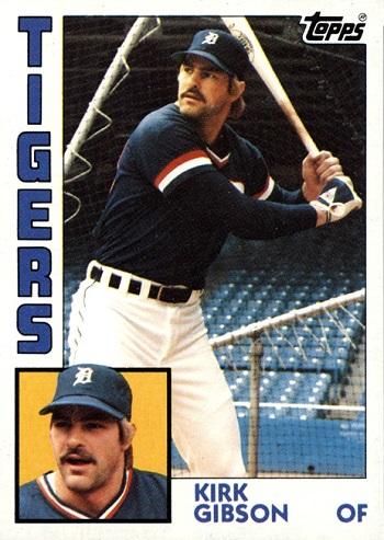 1984 Topps Kirk Gibson