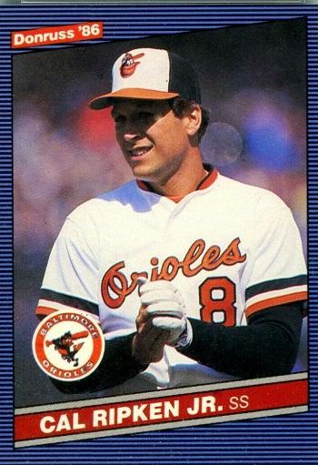 1986 Donruss Cal Ripken Jr