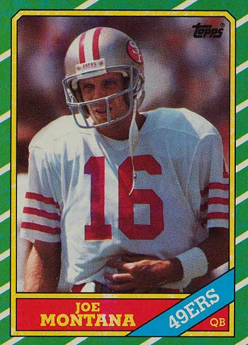 1986 Topps Joe Montana