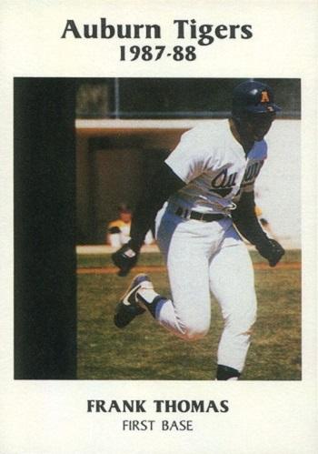 1987 Auburn Tigers Tiger Great Frank Thomas