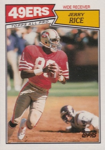 1987 Topps Jerry Rice All-Pro