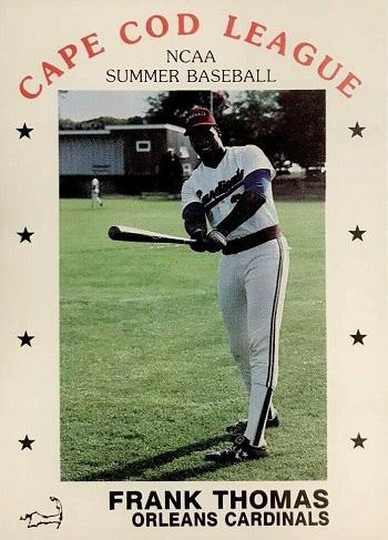 1988 P&L Cape Cod League Frank Thomas