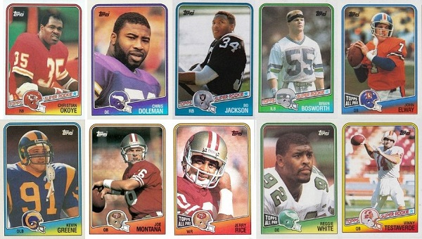 1988 Topps Football Cards – 10 Most Valuable