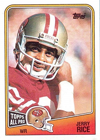1988 Topps Jerry Rice