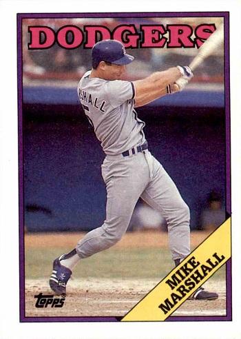 1988 Topps Mike Marshall