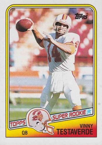 1988 Topps Vinny Testaverde Rookie Card
