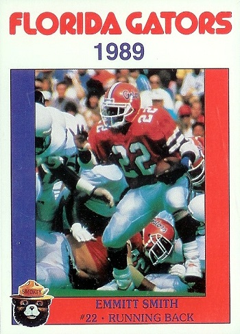 1989 Florida Gators Smokey Emmitt Smith