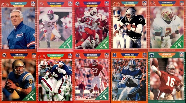 1989 Pro Set Football Cards – 10 Most Valuable