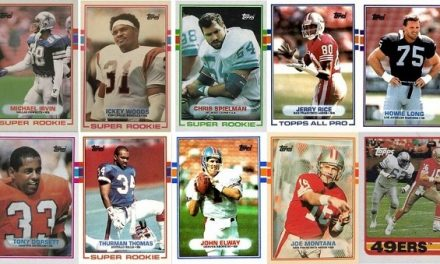 1989 Topps Football Cards – 10 Most Valuable