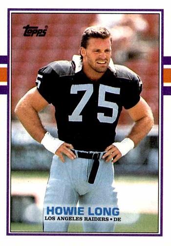 1989 Topps Howie Long
