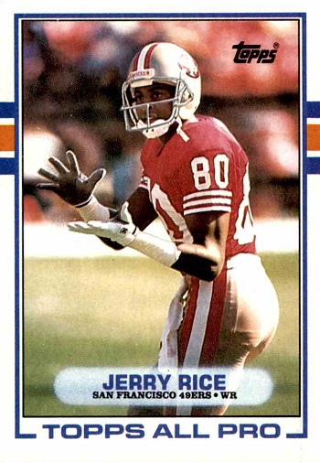 1989 Topps Jerry Rice