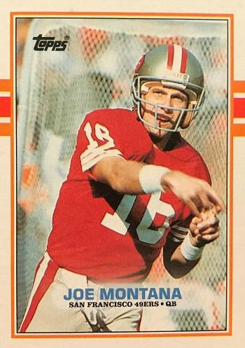 1989 Topps Joe Montana