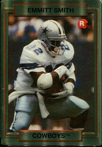 1990 Action Packed Rookie Update Emmitt Smith