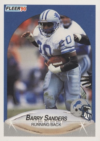 1990 Fleer Barry Sanders