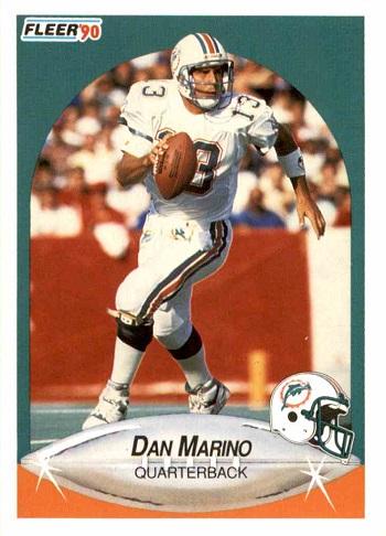 1990 Fleer Dan Marino