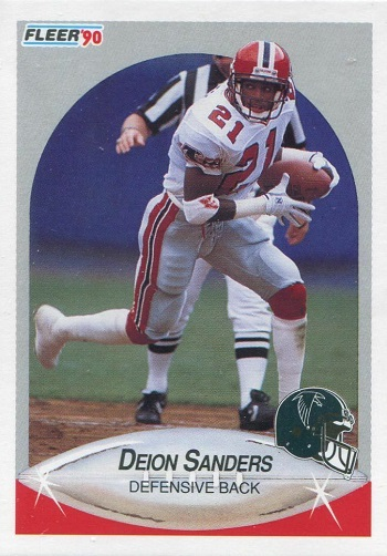 1990 Fleer Deion Sanders