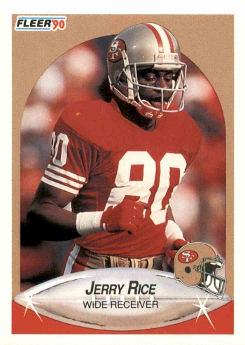 1990 Fleer Jerry Rice