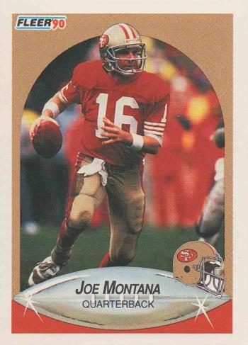 1990 Fleer Joe Montana