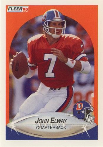 1990 Fleer John Elway